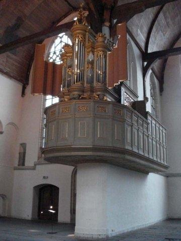 Ahrend organ Oude Kerk Amsterdam, March 2008