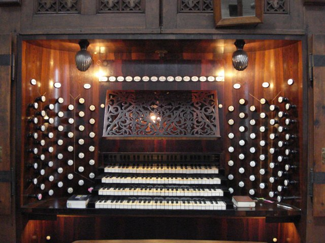 Ladegast organ Schwerin, May 2008