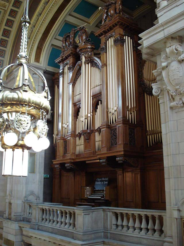 Lewis organ Kelvingrove art gallery, Glasgow, July 2008
