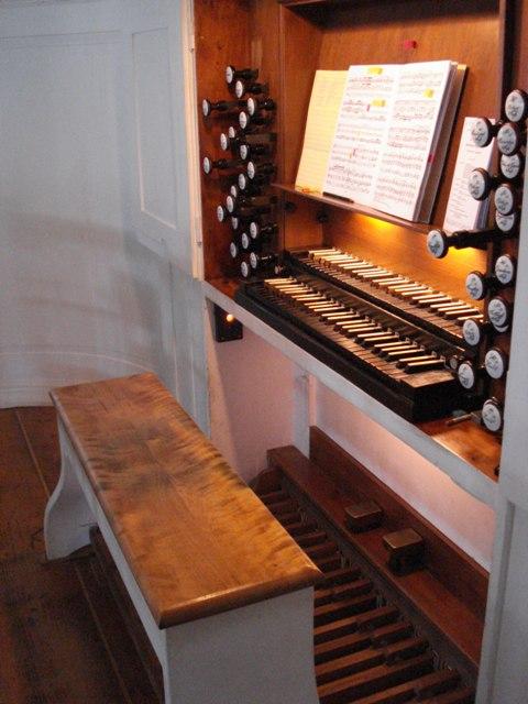Engelhardt organ Herzberg, July 2008