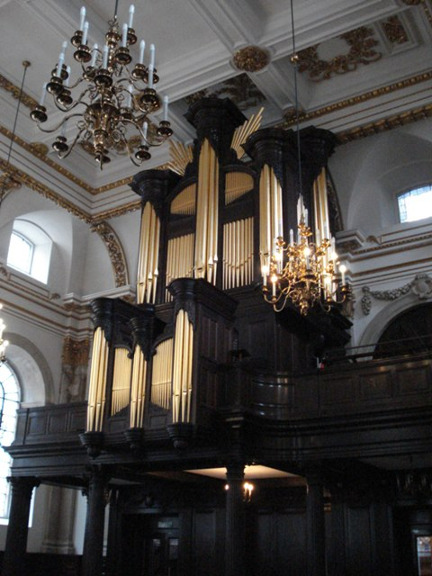 Klais organ St Lawrence Jewry London, May 2009