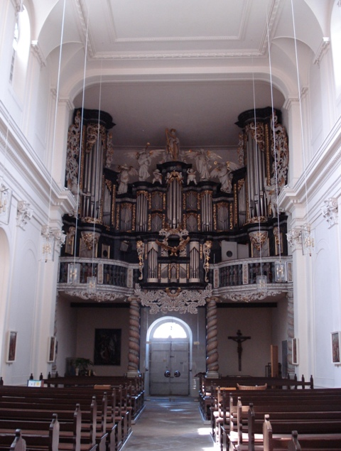 Schweimb/Hildebrand organ Ringelheim, May 2009
