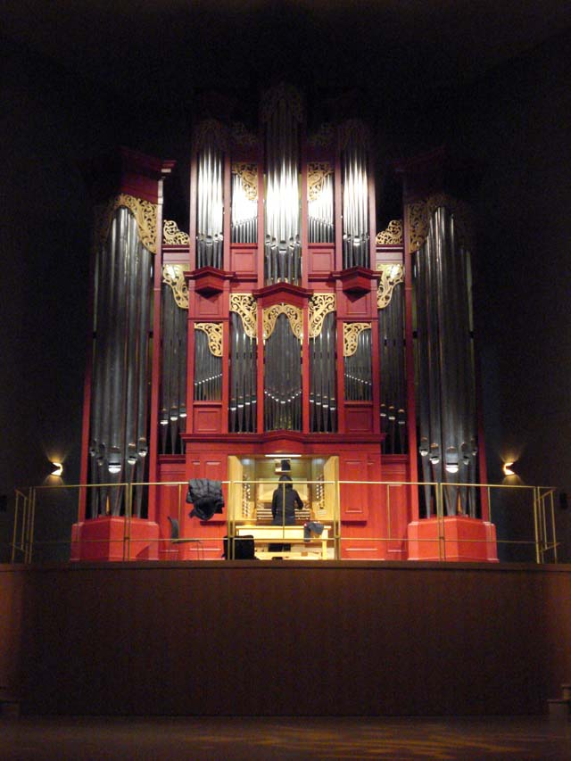 Mander organ Azuchi-cho Japan, Dec 2008
