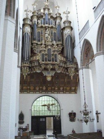 St Marien Stralsund, Stellwagen Organ July 2011